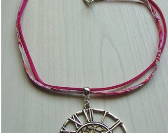 LIberty red necklace and pendant pendulum