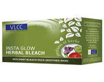 VLCC Insta Glow Herbal Facial Bleach 342g