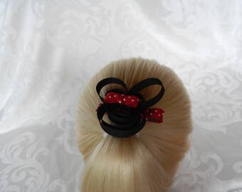 Minnie Mouse Sculpture Hair Bow