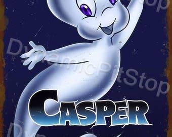 30x40cm Casper Inspired Tin Sign