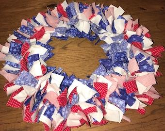 "12"" fabric wreath"