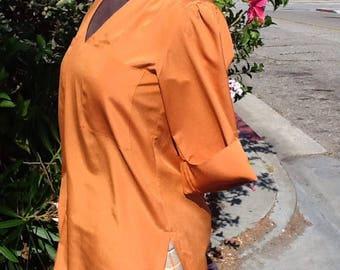 Vintage 1970s David Matthew blouse.