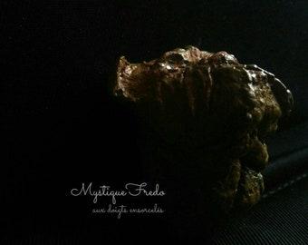 Magnet paper mache Bordeaux Mastiff dog head