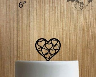 Heart 225-175 Cake Topper