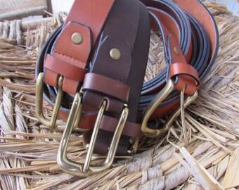 CUOIO30cm Brass Belts