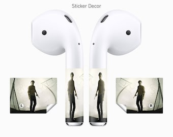 AirPods Stickers The Walking Dead, 2-Sets, Wraps, Skin, Cover, Decal