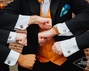 Superhero Cufflinks, Superhero Tie Clips, Superhero Tie Bars, Superhero Cuff Links, Superhero Wedding, Superhero Jewelry