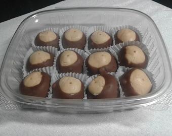 Made from scratch  Homemade Peanut Butter Buckeyes/ Peanut Butter Balls