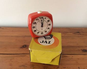 Jaz wind up Vintage orange 1970's