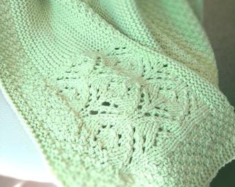 Blanket, Newborn Blanket, Soft Plaid, Warm Plaid, Baby Blanket, Handmade Plaid, Knitted Plaid, Knitted Blanket, Baby Shower Gift, Baby Gift
