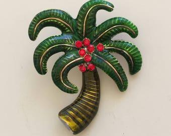 Coconut Palm Tree Pendant