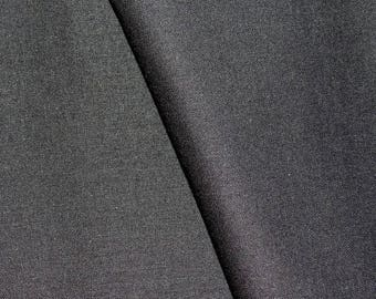 Black cotton fabric for sewing and patchwork