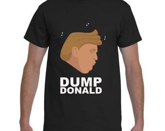 Dump Donald B-Shirt Man (White)