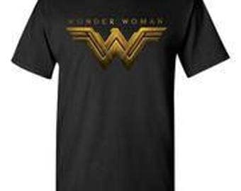 Wonder Woman Black T-Shirt