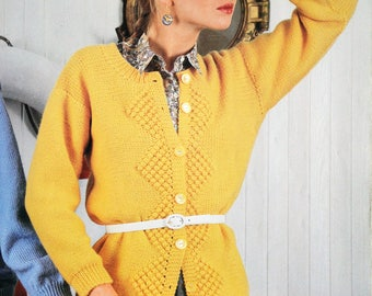Tutorial for Lady's yellow jacket