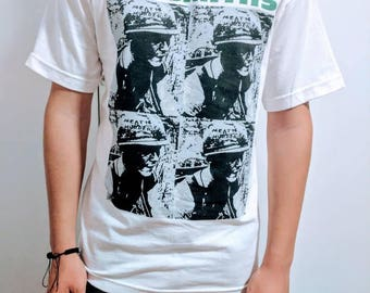 "THE SMITHS ""meat is murder"" t shirt"