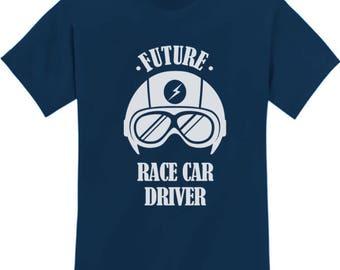 Future Race Car Driver, Boy Shirt, Funny Boy Shirt, Baby Shower gift, Baby Boy, Boy Mom, Funny Shirt, Boy Clothes, Kids Clothes