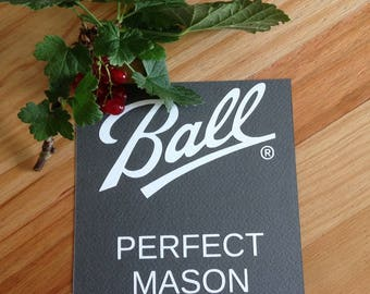 Ball Mason sticker