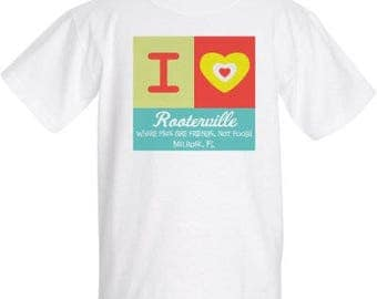 Kid's I Heart Rooterville T-Shirt