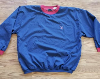 Bugle Boy Vintage 90's Pullover Golf Windbreaker Extra Large
