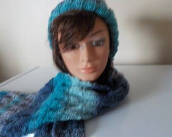 toque and scarf