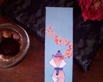 Fox collorie bookmark