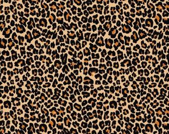 Leopard Cheetah Printed Vinyl Adhesive & HTV