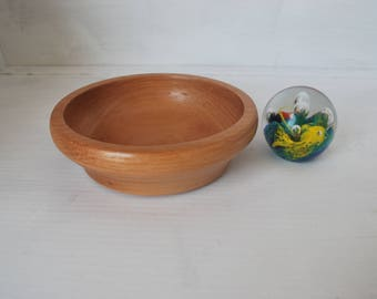 Small  Beech. Bowl, Unusual shape,