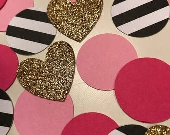 Kate Spade inspired Table Confetti or Card Confetti- Great for birthday party, bridal shower theme, baby showers and more