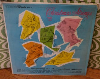 Christmas Strings LP Record by the Metropolitan Strings