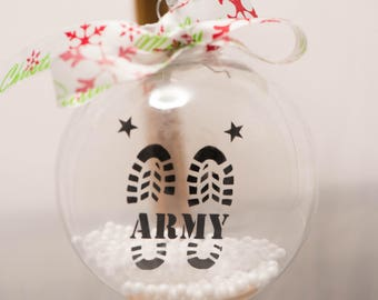 Army floating ornament