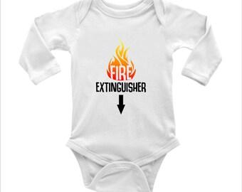 Fire Extinguisher babygrow