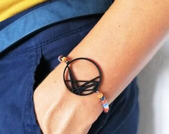 Personalised natal chart bracelet