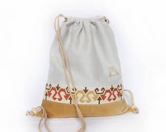 Gumamela drawsting backpack