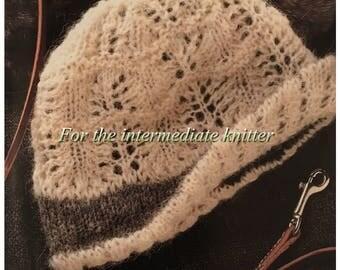 PDF Knit Lace Double Cap