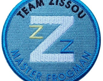 The Life Aquatic Frogman Costume Halloween Patch