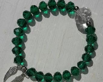 Healing - Archangel Raphael Energised Crystal Bracelet for Health and Healing, Physical, Emotional