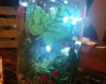 Leaves lantern