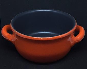 Albisola Piral Vintage Earthenware Saucepan