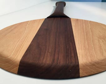 Pizza Paddle, Cutting Board Handmade, Wooden Serving, Wood serving Tray