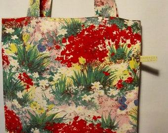 "Tote bag vintage ""Giverny"""