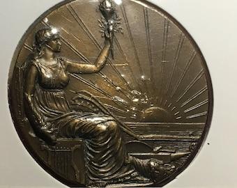 1 x Republica Oriental Del Uruguay Medal