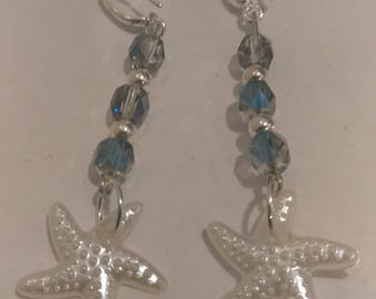Starfish Bead Earrings