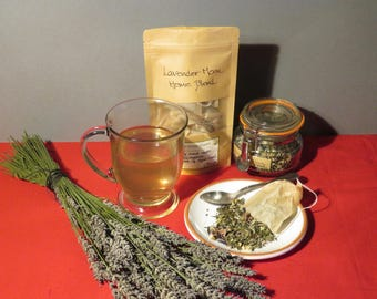 Lavender Moon Herbal Green tea