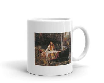 The Lady of Shalott by John Waterhouse Painting  Mug
