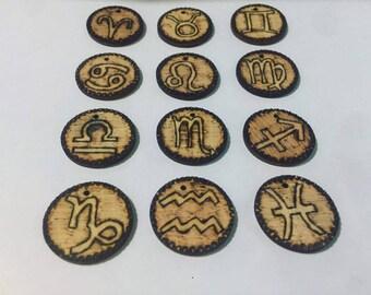 Zodiac Signs Keychains