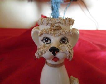 1950's Spagetti poodle vase