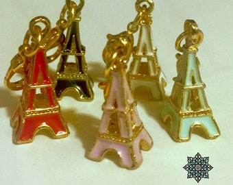 Eiffel Tower Charms for Planners and Traveler's Notebooks