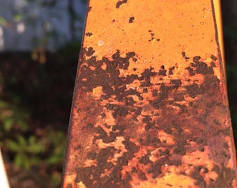 orange rust farm fall