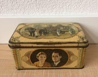 Antique Tin-Wedding Juliana and Bernhard of Orange